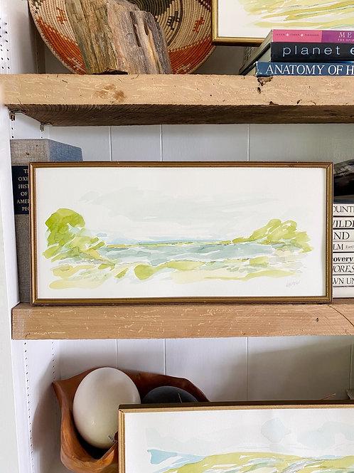 """""""Long Landscape 1"""" 17 x 8"""