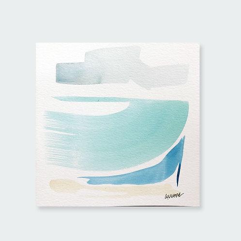 """""""Big Turquoise Wave 1"""""""