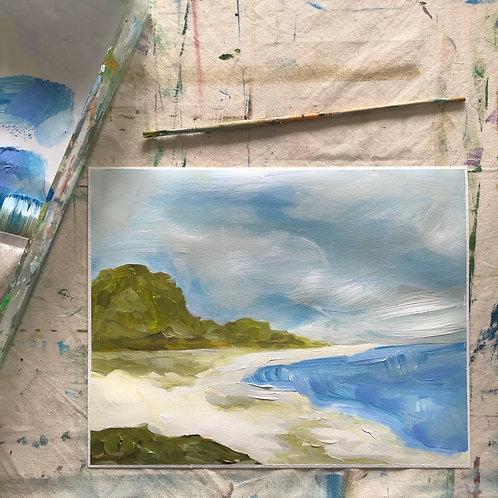 """Coastal View 2"" 11x14"