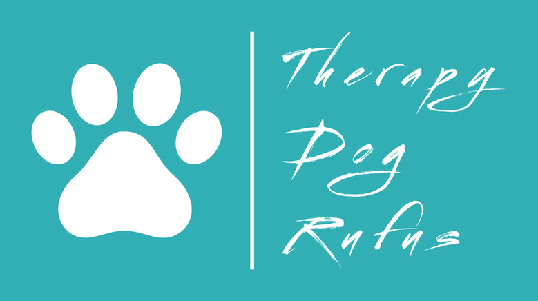 Therapy Dog Rufus Logo