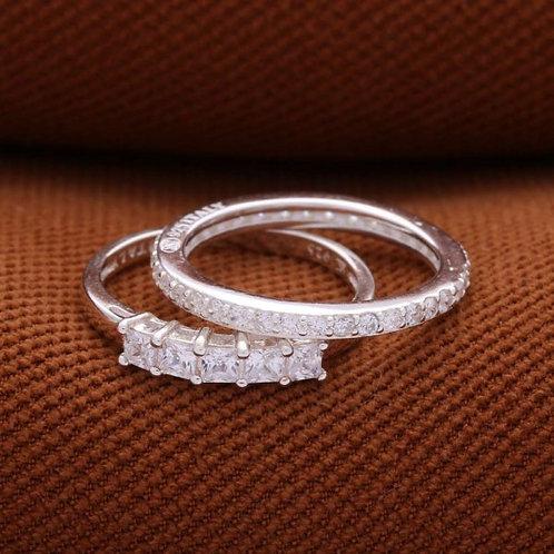 Tatiana 2in1 925 Silver Ring