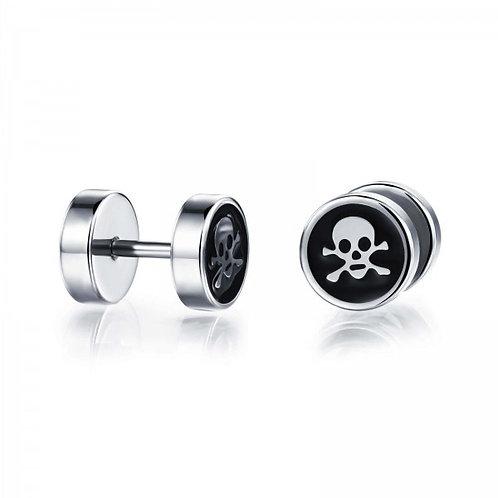 Skull Logo Earrings