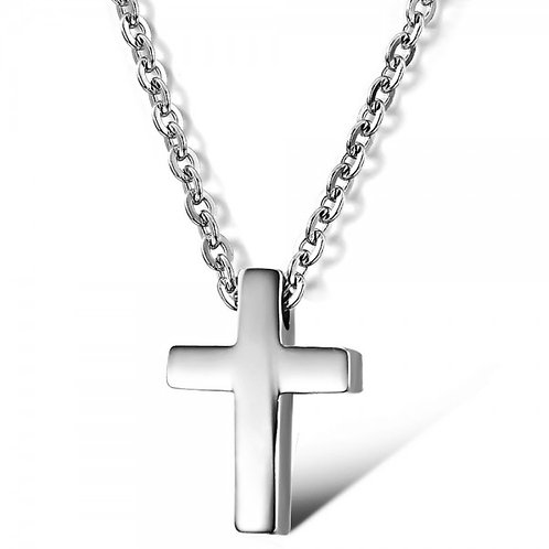 Tomas 316L Stainless Steel Necklace with Cross Pendant