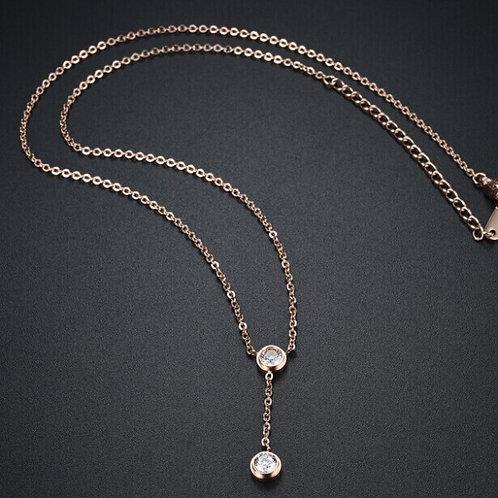 Esfer 316L Stainless Steel Rosegold Necklace