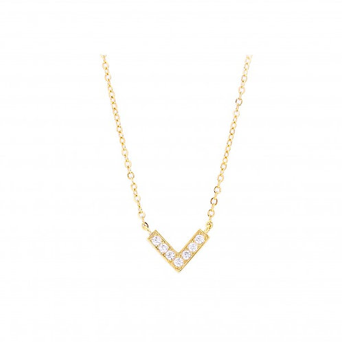 Vanna 18k Gold Plated Necklace