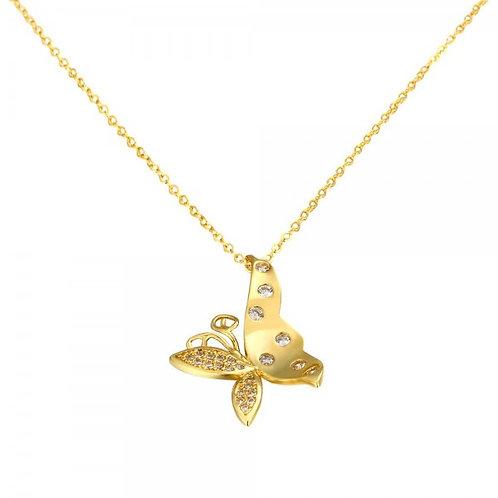 Alisha 18K Gold Necklace
