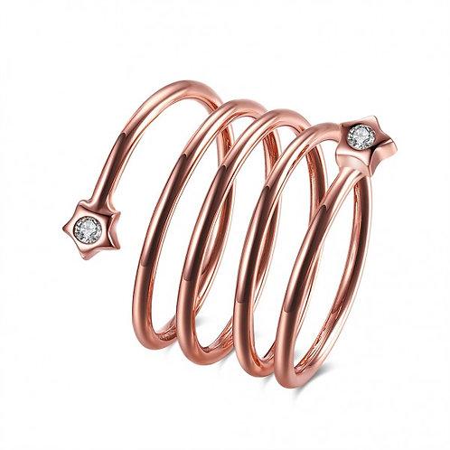 Spira 18k Rose Gold Plated Ring
