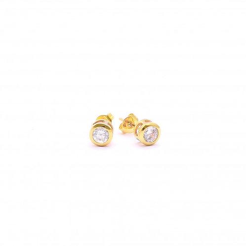 Brea 18k Gold Plated Earrings