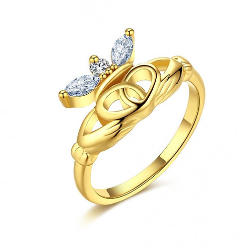 Margo 18k Gold Plated Ring