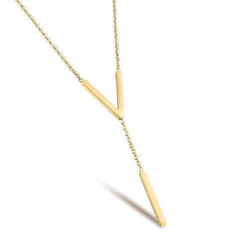 Vivere 316L Stainless Steel Silver Necklace