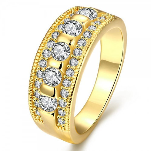 Esther 18K Gold Plated Ring by Elite