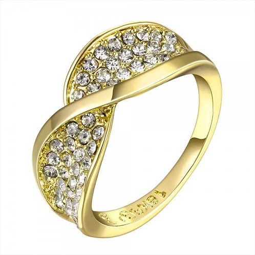 Madonna 18K Gold Plated Ring
