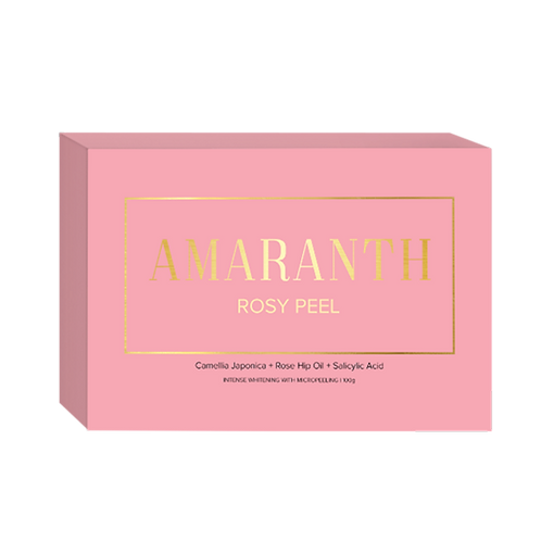 Amaranth Rosy Peel Whitening Soap