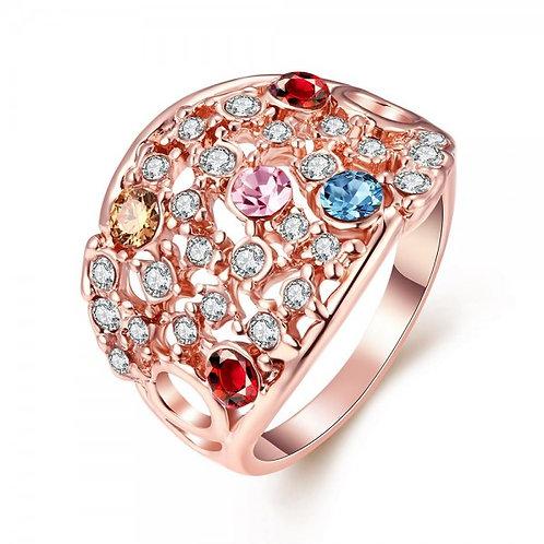 Aramina Rose Gold Plated Ring
