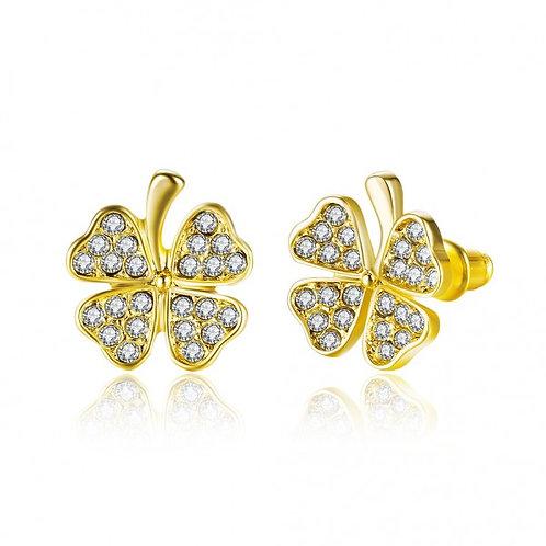 Charmaine Gold Plated Earrings