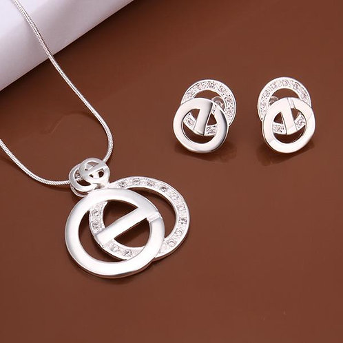 Dulce Silver Plated Set