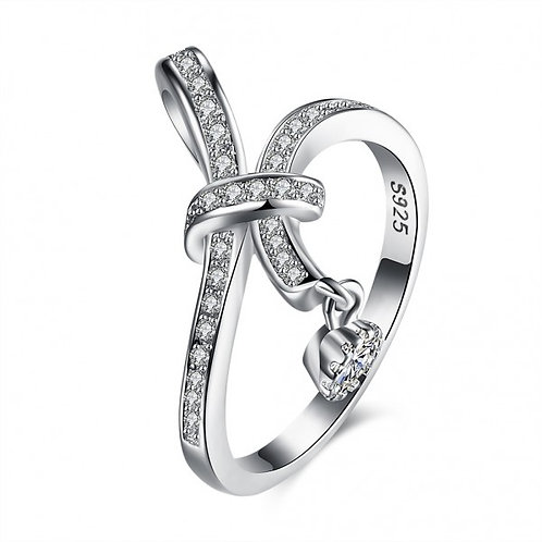 Lory Knot 925 Sterling Silver Ring