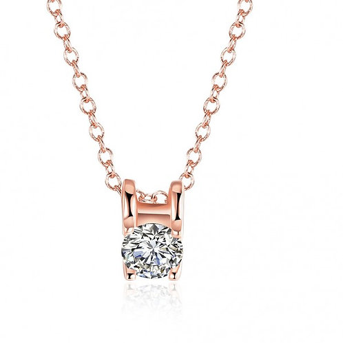 Roxanne Rose Gold Plated Necklace