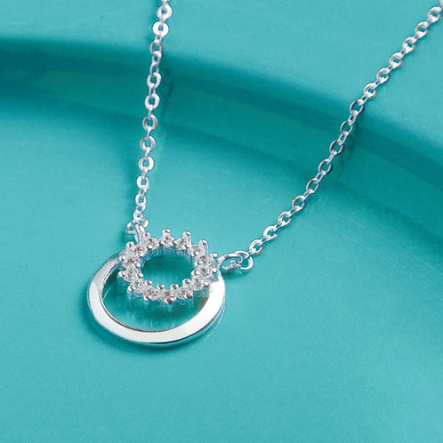 Eclipse Necklace by Argento 925 Silver