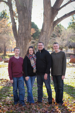 Family Portrait Christmas Photos