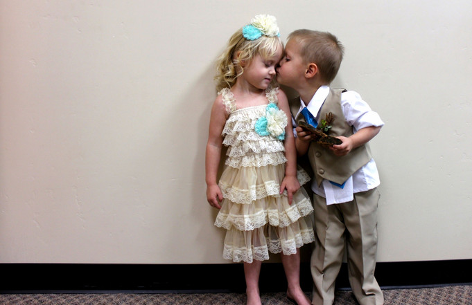 Portrait with Children young love