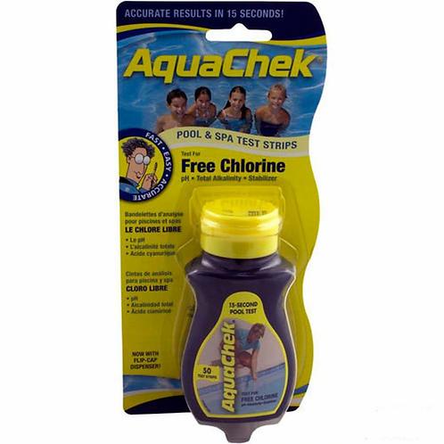 AquaCheck 4-in-1 Test Strips: CHLORINE