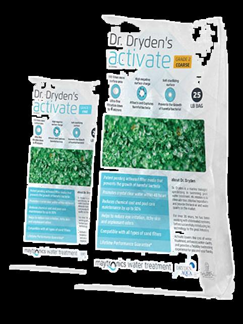 Activate Filter Media - Fine (25lb Bag)