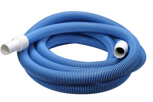"PoolStyle Delux Vacuum Hose 30' x 1-1/2"" BLUE"