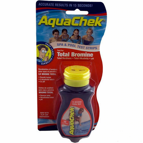 AquaCheck 4-in-1 Test Strips: BROMINE