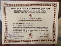 World Wide Essay Competition