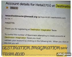 Destination Imagination 2013 to 2014