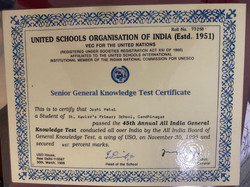 General Knowledge Certifications