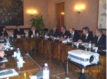 MISSIONE ISTITUZIONALE, GENNAIO 2008