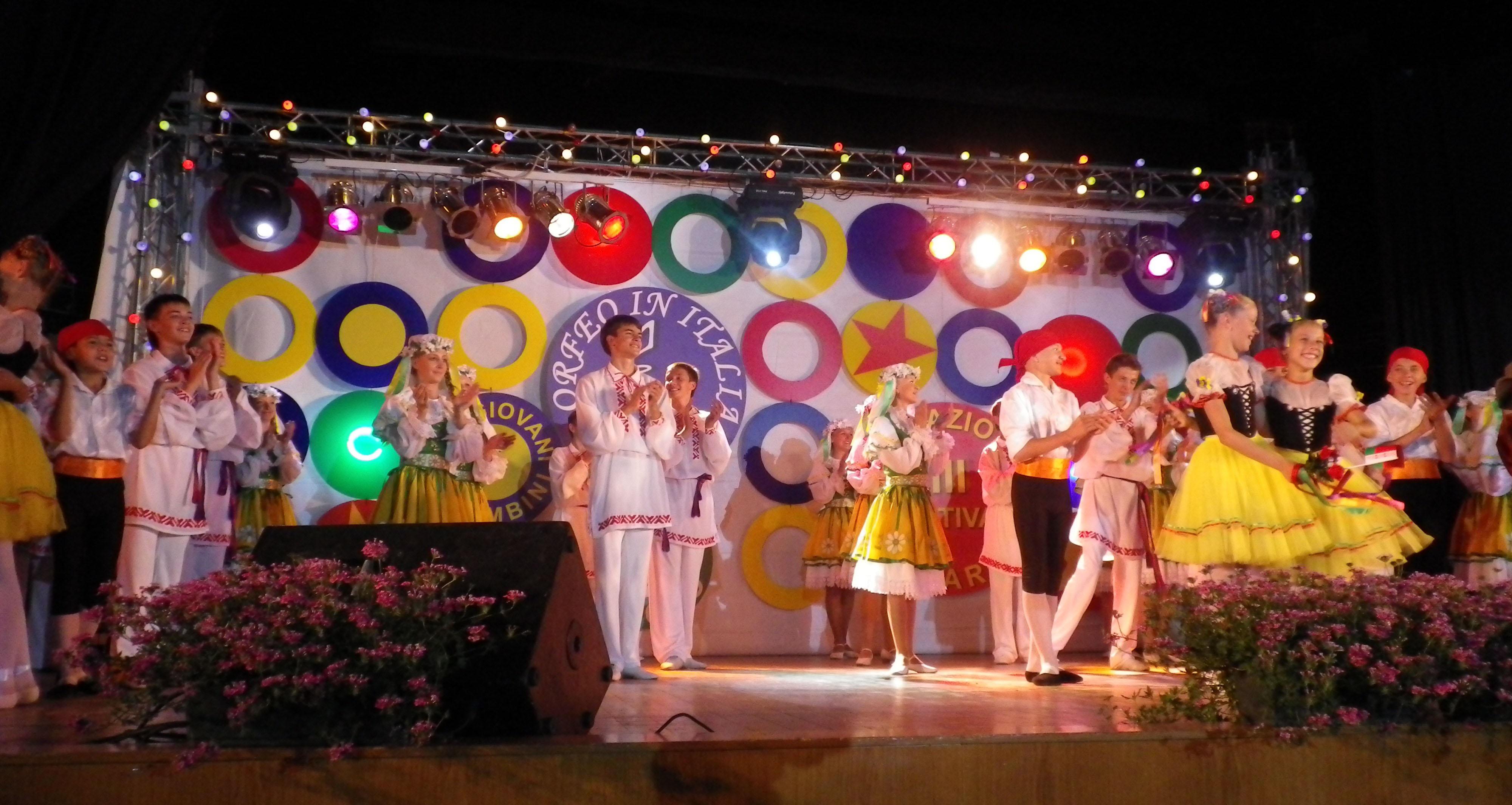 ORFEO IN ITALIA 2009