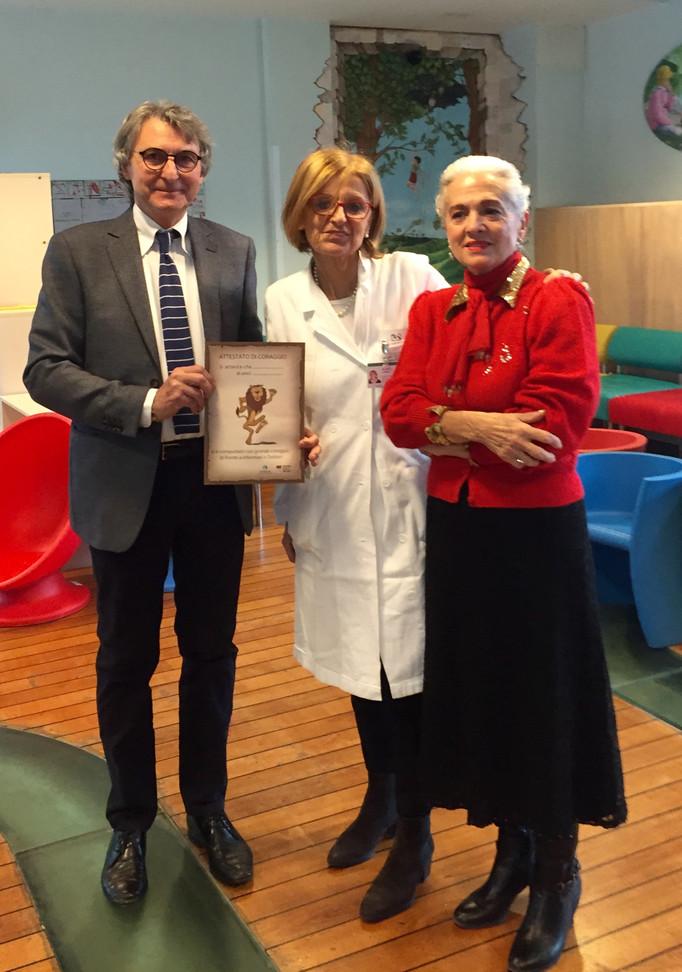 Progetto per i bambini della Pediatria di Treviso