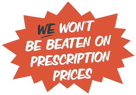 We won't be beaten on prescription prices