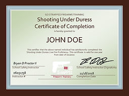 Shooting Under Duress Certificate JPEG.j