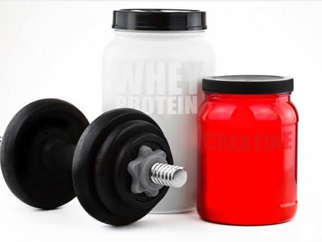 3 suplementos para el aumento de la masa muscular