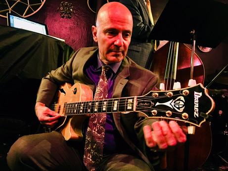 Tuning at Maureen's Jazz Cellar, Nyack, NY