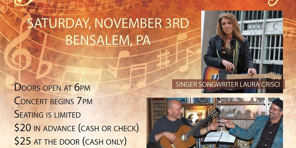 Guitar House Concert, Bensalem, PA
