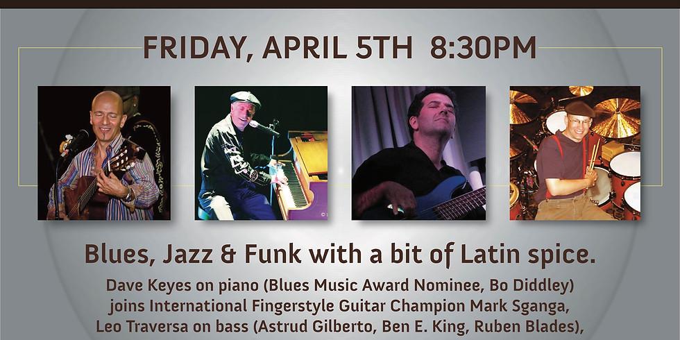 Mark Sganga's Blues, Jazz & Funk at The '76!