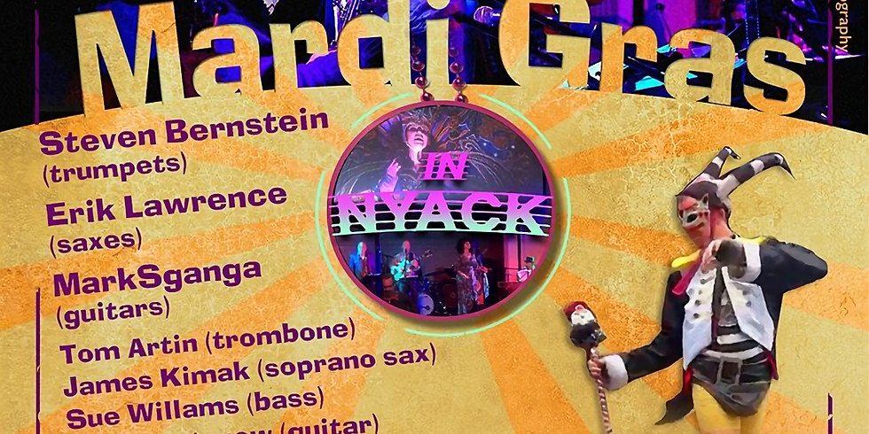 Mardi Gras In Nyack: Concert by ArtsRock