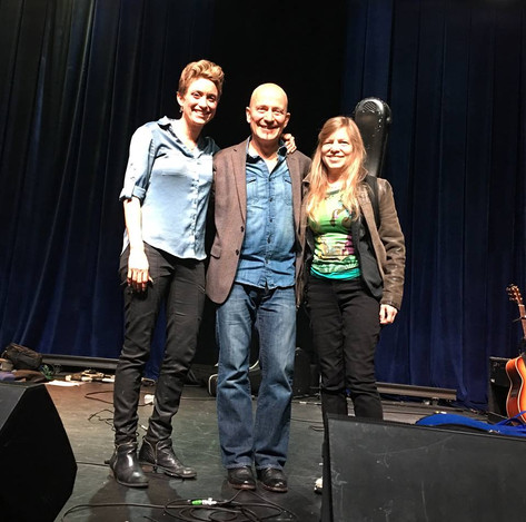3 Fingerstyle Champions -  Christie Lenee (1st Place 2017)/ Mark Sganga (1st Place 2009) / Muriel Anderson (1st Place 1989