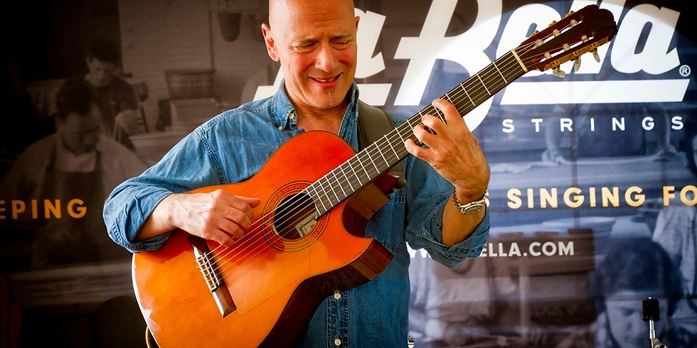Mark Sganga LIVE in The Courtyard at Grappa Ristorante