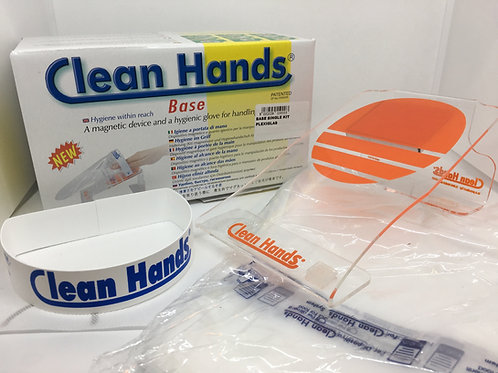 NEW Clean Hands® Large Base Starter Kit (inc. 100 gloves)