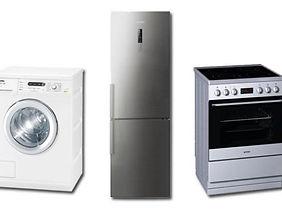 Hvitevarer, ovn, kjøleskap,vaskemaskin