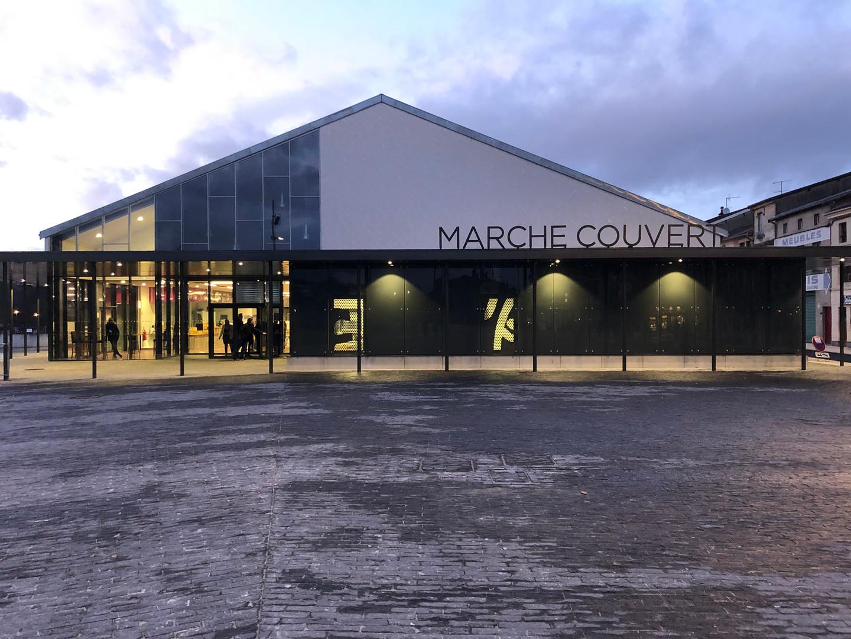 MARCHE COUVERT BAR LE DUC