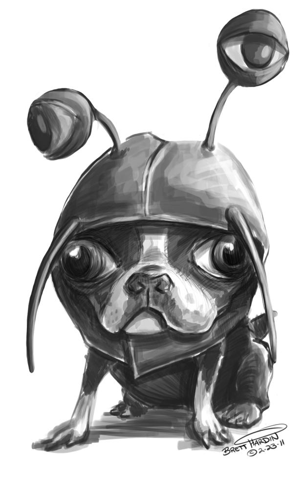 Pug Alien