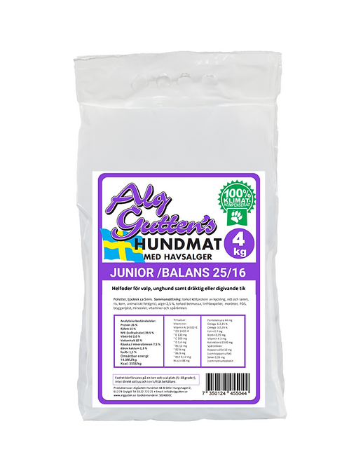 Junior/balans 25/16 - 4kg
