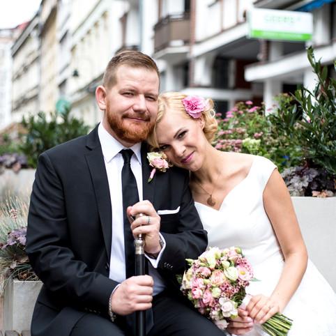 Summer wedding in the city of Wrocław (Ewa&Marcin)